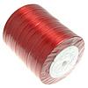Satinband, rot, 10mm, Länge:250 HofHof, 10PCs/Menge, verkauft von Menge