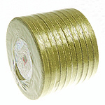 Funkeln Band, Goldfarbe, 6mm, Länge:250 HofHof, 10PCs/Menge, verkauft von Menge