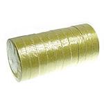 Funkeln Band, Goldfarbe, 20mm, Länge:250 HofHof, 10PCs/Menge, verkauft von Menge