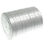 Funkeln Band, Silberfarbe, 12mm, Länge:250 HofHof, 10PCs/Menge, verkauft von Menge