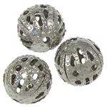 Eisen Schmuckperlen , rund, 7.50mm, Bohrung:ca. 1mm, 2000PCs/Tasche, verkauft von Tasche