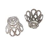 Eisen Perlenkappen, 9x7mm, Bohrung:ca. 1mm, 1000PCs/Tasche, verkauft von Tasche