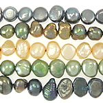 Barock kultivierten Süßwassersee Perlen, Natürliche kultivierte Süßwasserperlen, gemischte Farben, 4-5mm, Bohrung:ca. 0.8mm, Länge:14.5 ZollInch, 10SträngeStrang/Tasche, verkauft von Tasche