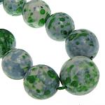 Regen Blumen Stein Perlen, rund, synthetisch, 10-20mm, Bohrung:ca. 1mm, Länge:16.5 ZollInch, 5SträngeStrang/Menge, verkauft von Menge