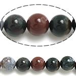 Natürliche Indian Achat Perlen, Indischer Achat, rund, verschiedene Größen vorhanden, Bohrung:ca. 1mm, Länge:ca. 15.5 ZollInch, verkauft von Menge