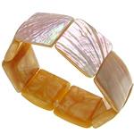 Muschel Schmuck Armband, Seeohr Muschel, 23-25x5-7mm, verkauft per ca. 7.5 ZollInch Strang