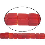 Kubische Kristallperlen, Kristall, Würfel, natürlich, Siam, 4.50x4mm, Bohrung:ca. 1mm, ca. 90PCs/Strang, verkauft per ca. 15 ZollInch Strang