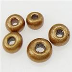 Opake Glas Rocailles, Glas-Rocailles, rund, stumpfmatt, goldfarben, 2x1.90mm, Bohrung:ca. 1mm, verkauft von Tasche