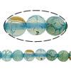 Natürliche Regenbogen Achat Perlen, rund, 6mm, Bohrung:ca. 1mm, Länge:ca. 15.8 ZollInch, 10PCs/Menge, ca. 68PCs/Strang, verkauft von Menge