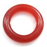 Roter Achat Anhänger, Kreisring, 15x15mm, 20PCs/Tasche, verkauft von Tasche