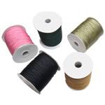 Nylongarn, Nylon, mit Kunststoffspule, gemischte Farben, 1mm, 5PCs/Menge, verkauft von Menge