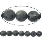 Labradorit Perlen, rund, natürlich, Maschine facettiert, 8mm, Bohrung:ca. 1mm, Länge:ca. 15 ZollInch, 10SträngeStrang/Menge, ca. 46PCs/Strang, verkauft von Menge