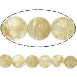 Kaffee Stein Perlen, rund, natürlich, 4mm, Bohrung:ca. 0.8mm, Länge:ca. 15 ZollInch, 20SträngeStrang/Menge, ca. 90PCs/Strang, verkauft von Menge