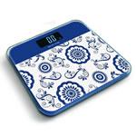 Digitale Taschenwaage , Hartglas, Rechteck, blau, 215x180x40mm, verkauft von PC