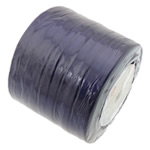 Satinband, dunkelviolett, 6mm, Länge:230 HofHof, 10PCs/Menge, verkauft von Menge