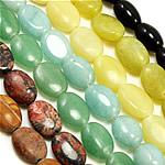 Mischedelstein Perlen, Edelstein, natürlich, gemischt, 8-40mm, Bohrung:ca. 2mm, Länge:14 ZollInch, 50SträngeStrang/Menge, verkauft von Menge