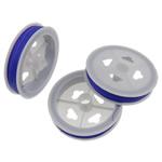 Stahldraht, Elektrophorese, Hyazinth, 0.38mm, Länge:ca. 650 m, 10PCs/Tasche, verkauft von Tasche