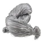 Polypropylen Schnur, Silberfarbe, 1.5x0.5mm, Länge:ca. 5000 m, verkauft von kg