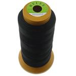 Nylongarn, Nylon, mit Kunststoffspule, nichtelastisch, 6 Fach Garn, schwarz, 0.50mm, Länge:480 m, 10PCs/Menge, verkauft von Menge