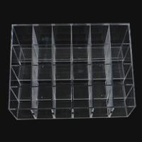 Mode Schmuckständer, Kunststoff, Rechteck, transluzent, weiß, 145.80x96x72.30mm, verkauft von PC