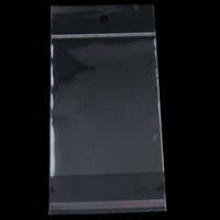 OPP Selbstdichtkissen, Rechteck, transparent, 95x155x0.035mm, 2000PCs/Tasche, verkauft von Tasche