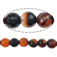 Natürliche traumhafte Achat Perlen, Traumhafter Achat, rund, verschiedene Größen vorhanden & facettierte, Bohrung:ca. 1-1.2mm, Länge:ca. 15.5 ZollInch, verkauft von Menge