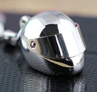Zinklegierung Schlüsselanhänger, Schlange, Platinfarbe platiniert, frei von Nickel, Blei & Kadmium, 25x18x18mm, 32mm, verkauft von PC