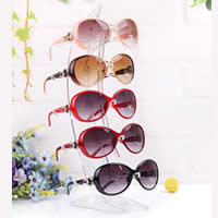 Brillenhalter, Kunststoff, klar, 350x160x150mm,110mm, 5PCs/Menge, verkauft von Menge