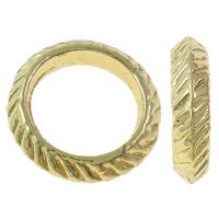 Zinklegierung Verbindungsring, Kreisring, vergoldet, hochwertige Beschichtung und nie verblassen, frei von Blei & Kadmium, 14x3mm, Bohrung:ca. 9mm, 20PCs/Tasche, verkauft von Tasche