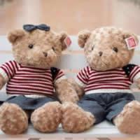 Plüsch Teddy Bär Spielzeug, mit Stoff, verschiedene Größen vorhanden & verschiedene Stile für Wahl, verkauft von Menge
