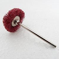 Edelstahl Polierscheibe, mit Gummi, keine, 2.35mm, 100PCs/Menge, verkauft von Menge