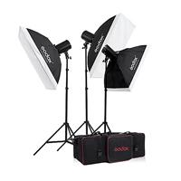 Kit Lumière Photographie, Zinklegierung, Lichtstativ & Licht-Box, mit Lylon, Einbrennlack, frei von Nickel, Blei & Kadmium, 230x105x95mm, 3PCs/setzen, verkauft von setzen