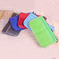 Polyester Organisator, mit Baumwolle & Zinklegierung, Rechteck, Platinfarbe platiniert, keine, frei von Nickel, Blei & Kadmium, 280x170x100mm, 20PCs/Menge, verkauft von Menge