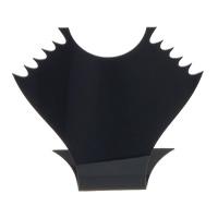 Organisches Glas Kettenständer, schwarz, 165x156x57mm, 5PCs/Menge, verkauft von Menge