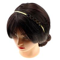 Messing Haarband Zubehör, antike Bronzefarbe plattiert, frei von Nickel, Blei & Kadmium, 14mm, 5mm, Innendurchmesser:ca. 12mm, Länge:ca. 12 ZollInch, 10PCs/Menge, verkauft von Menge