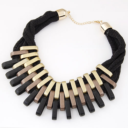 Verkupfter Kunststoff Halsketten, Verkupferter Kunststoff, plattiert, 400mm, verkauft per ca. 15.75 ZollInch Strang