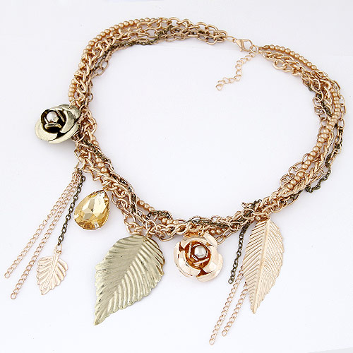 Buy Zinc Alloy Jewelry Necklace iron chain 5cm extender chain gold color plated lead & cadmium free 400mm Sold Per Approx 15.75 Inch Strand