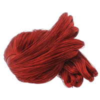 Seidenkordel, Seidenhalstuch, keine, 1mm, 100m/Tasche, verkauft von Tasche