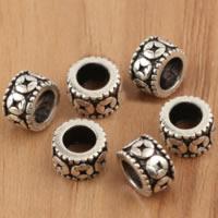 Thailand European Perlen, Rondell, ohne troll, 7x4.80mm, Bohrung:ca. 4.7mm, 40PCs/Menge, verkauft von Menge