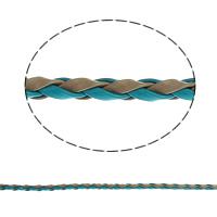 Lederband, PU Leder, binden, keine, 3mm, 100m/Tasche, verkauft von Tasche