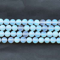Opal Perlen, rund, verschiedene Größen vorhanden, Länge:ca. 15 ZollInch, verkauft von Menge