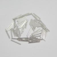 925 Sterling Silber Ohrring Stecker, 0.9x10mm, 150PaarePärchen/Menge, verkauft von Menge