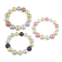 Südsee Muschel Armbänder, Perlen Armband & gemischt, 14mm, Länge:ca. 8 ZollInch, 10SträngeStrang/Tasche, verkauft von Tasche