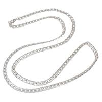 Halskette, Edelstahl, verschiedene Größen vorhanden & Kandare Kette, originale Farbe, verkauft von Strang