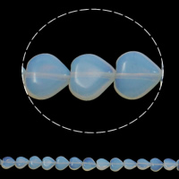 Opal Perlen, Herz, 12x5mm, Bohrung:ca. 1.5mm, ca. 36PCs/Strang, verkauft per ca. 15.7 ZollInch Strang