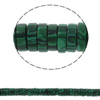 Malachit Perle, Scheibe, synthetisch, 15x5mm, Bohrung:ca. 1.5mm, ca. 77PCs/Strang, verkauft per ca. 15.7 ZollInch Strang