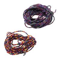 Ethnische Baumwollschnur, Baumwolle, keine, 7x4mm, 100m/Menge, verkauft von Menge