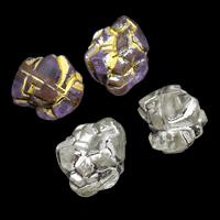 Gemischte Acrylperlen, Acryl, 9x12x9mm, Bohrung:ca. 1mm, ca. 1000PCs/Tasche, verkauft von Tasche
