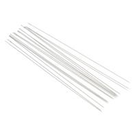 Eisen Perlennadel, Platinfarbe platiniert, verschiedene Größen vorhanden, frei von Nickel, Blei & Kadmium, 45PCs/Tasche, verkauft von Tasche
