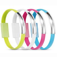 ABS Kunststoff Armband USB, mit PVC Kunststoff & Edelstahl, verschiedene Stile für Wahl, gemischte Farben, verkauft per 8.8 ZollInch Strang